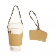 Blank cup cover with ears (with lifting rope)  1000pcs