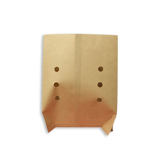 Oilproof snack punching paper bag 15x20cm  500pcs  pack