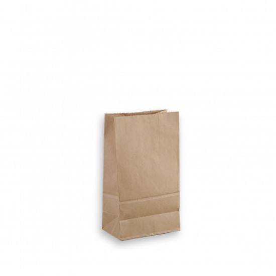 50G cowhide straight three-dimensional paper bag   carton