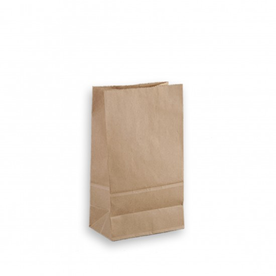 65G cowhide straight three-dimensional paper bag  carton