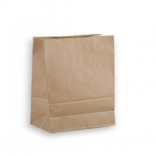 80G cowhide straight three-dimensional paper bag   carton