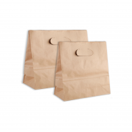 100G Cowhide Hollow Paper Bag  25pcs  pack