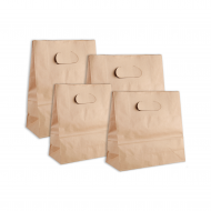 80G Cowhide Hollow Paper Bag  25pcs  pack