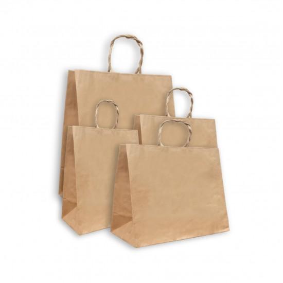 Kraft paper tote bag 25 pcs  bag
