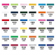 Customized T-SHIRT│round neck short sleeve pure cotton 36 colors