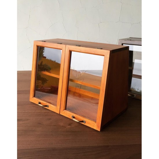 Solid wood snack cabinet