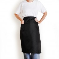 Customized Apron Printed Polyester Half-length Apron | Single Pocket | Six Colors