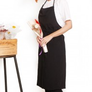 Customized apron printing Washed cotton Japanese style cotton tied rope apron | Seven colors