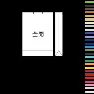 1K paper bag | 24 color paper rope | 500 minimum order