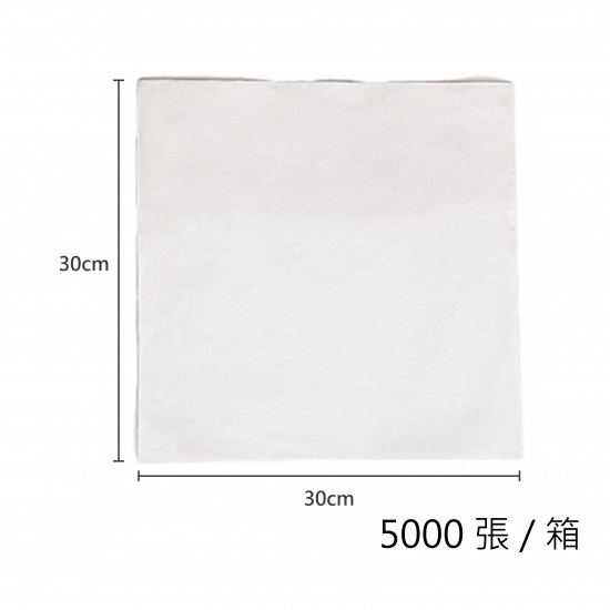 淋膜空白平張紙30x30cm/箱